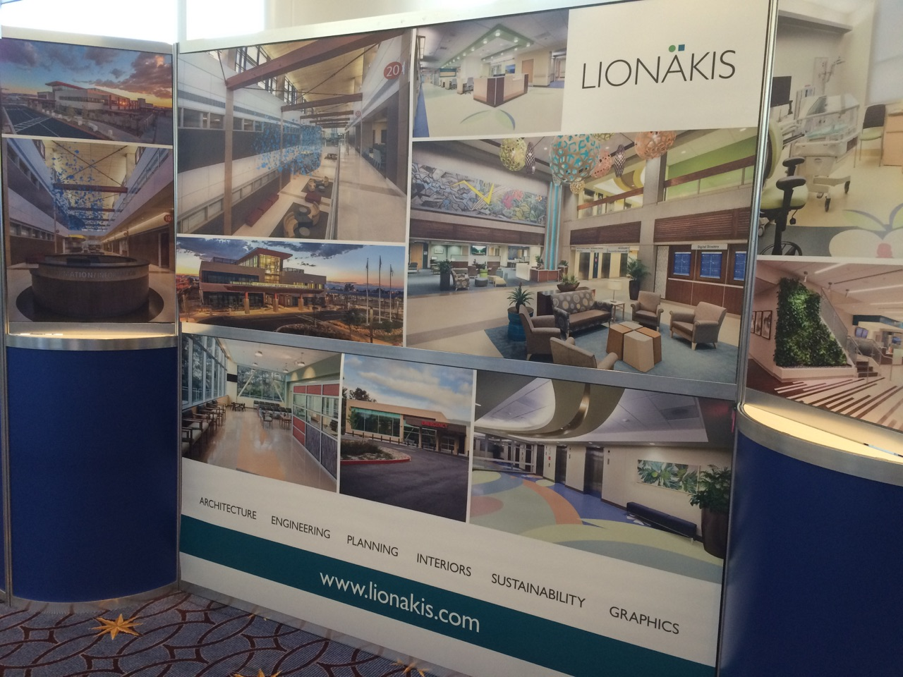 Interior Design Conferences 2015 Healthcare Conference Gallery Booth Lionakis