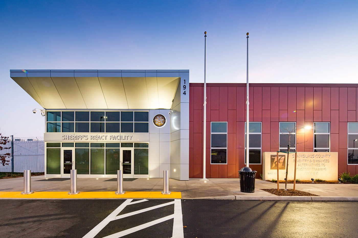 Stanislaus County React Center | Lionakis