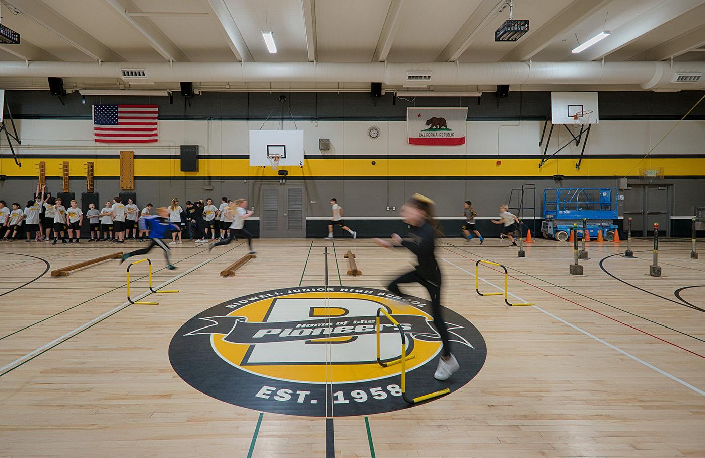 Bidwell Junior High School Lionakis